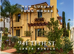 Four new finely crafted Tuscan Villas.  Meticulous attention to detail.  Maple floors throughout, top of the line Italian cabinets + paneled Viking and Bosch appliances.  Luxurious master suite.  Private sun deck.  Private garages.  Prime Santa Monica location.