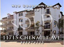SOLD:  New Tuscan-style condominium homes with three bedroom and two-and-a-half bathroom in prime Sherman Oaks.  Wood and stone floors, gourmet kitchens, spacious master suites with travertine bathroom surfaces.  In-building gym, security systems and more.