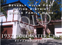Country English home in the heart of Beverly Hills PO.  New walnut floors.  Large living room.  Formal dining room.  Large patio.  Expansive, flat yard.  Elevated pool and spa.  Newly updated kitchen.  Two master suites + 3 additional bedrooms and 2 1/2 additional bathrooms.  For sale.