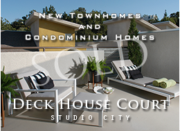 SOLD:  21 luxury 2 and 3 bedroom town homes and condominium homes at 11815 Laurelwood in Studio City.  Contemporary architecture.  Spacious living with open floor plans and volumes of light.  Gas fireplaces.  Spectacular views.  Master suites with lofts.  Adjacent to CBS Studios.