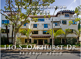 Distinguished new development perfectly situated in Beverly Hills.  Abundant light, hardwood floors, oversized moldings, epicurean kitchens with Wolf appliances, spacious master suite.  Side-by-side parking, on-site fitness center.  Studio to 3 bedroom homes.