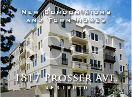New, inviting contemporary condominiums and townhomes.  21 homes, 11 floor plans, all with clean lines and flowing, light-filled spaces.  Wood floors, Bosch™ stainless steel appliances, frameless master shower, dual master sinks.  In the heart of Westwood Village.  Century City adjacent.